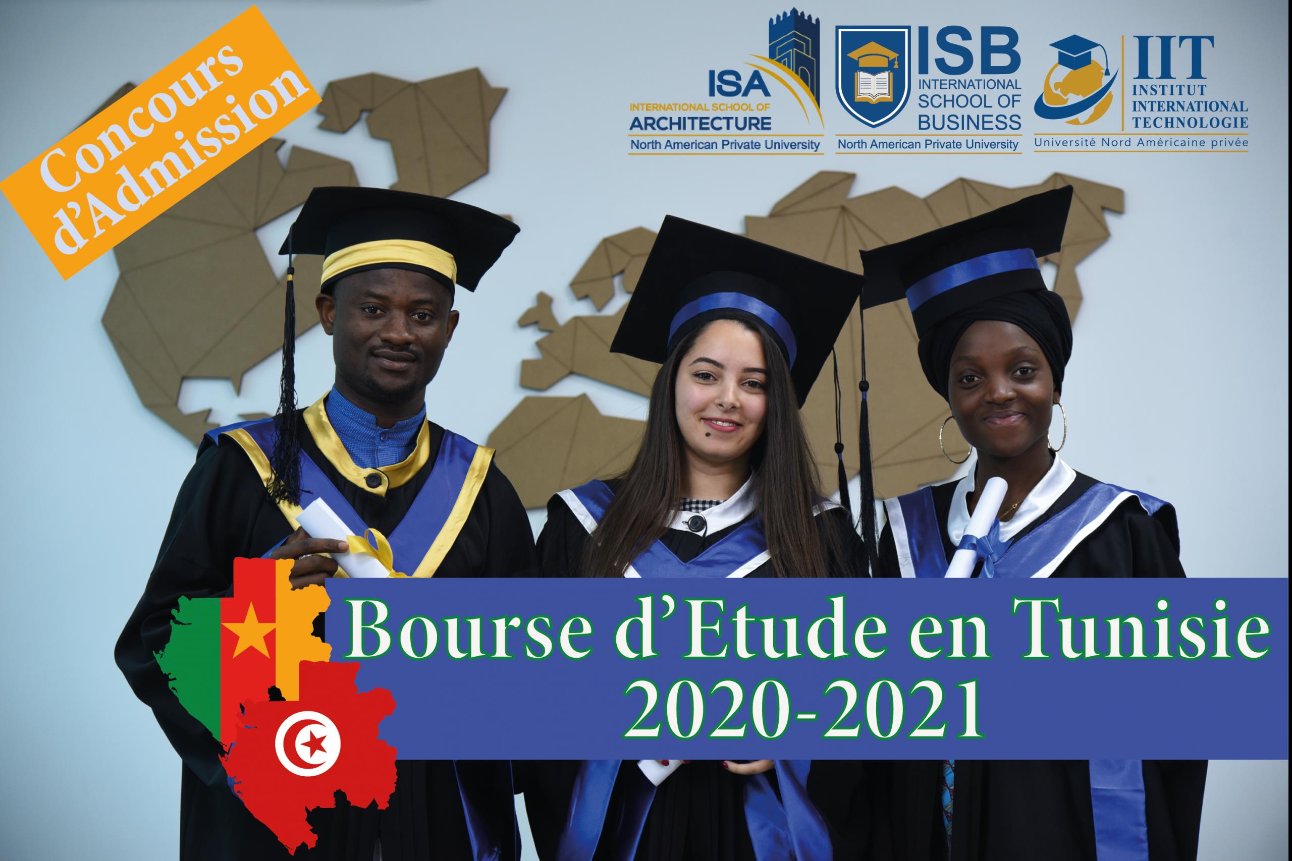 Liste des étudiants camerounais acceptés à l'Université Nord Américaine Privée