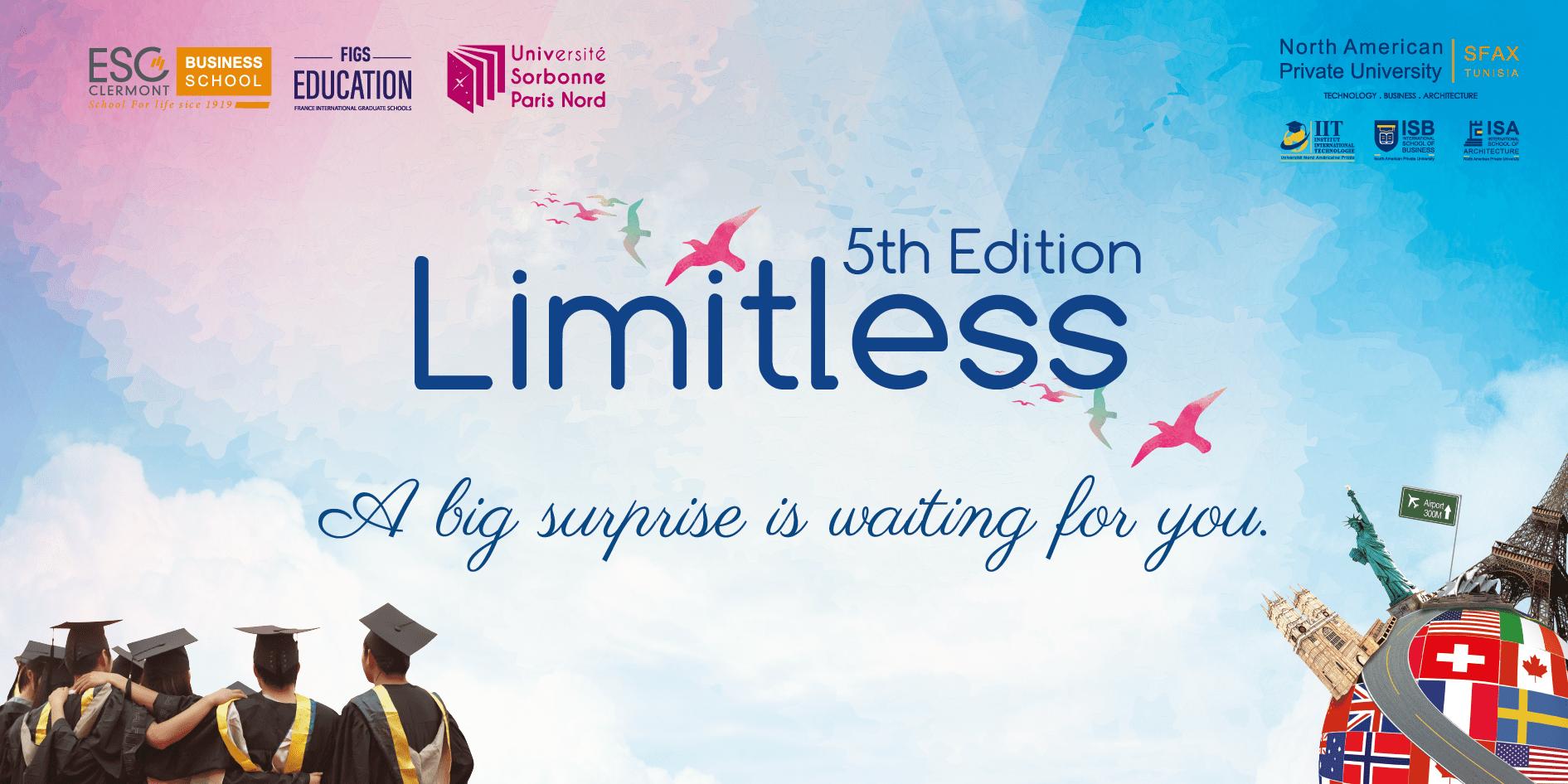Communiqué de presse « Limitless 5th edition »
